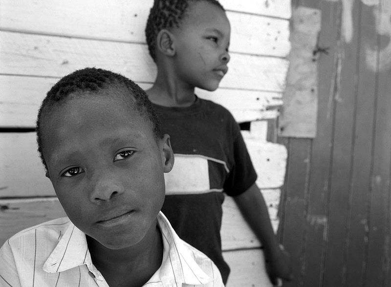 BUDDIES - IMIZAMO YETHU TOWNSHIP HOUT BAY NR CAPE TOWN SOUTH AFRICA - GRAHAM GUY BARRATT