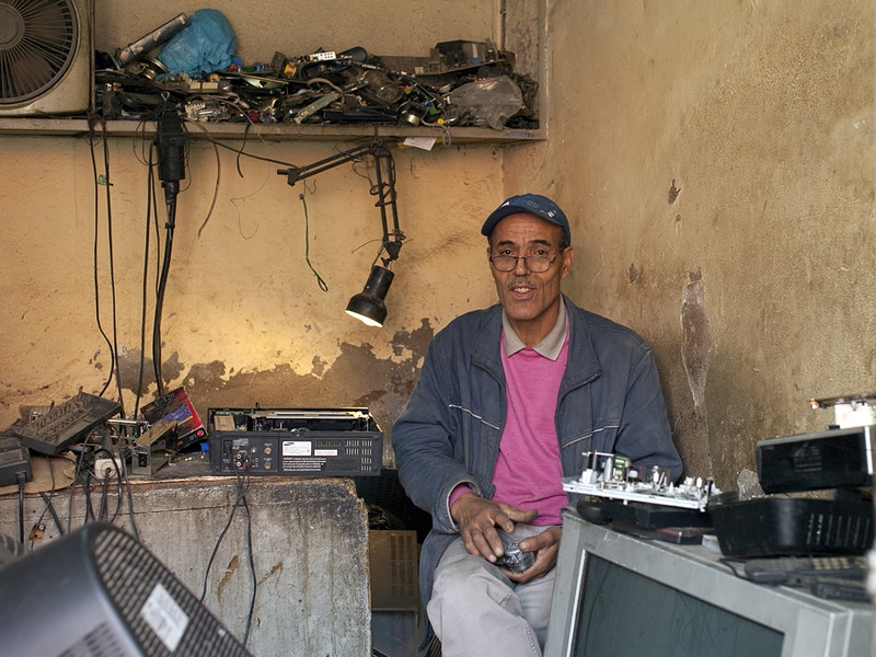 THE GRAND MARRAKECH TV REPAIR SHOP - GRAHAM GUY BARRATT