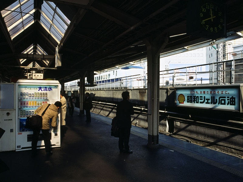 HOME FROM TOKYO - GINZA STATION 4PM - GRAHAM GUY BARRATT