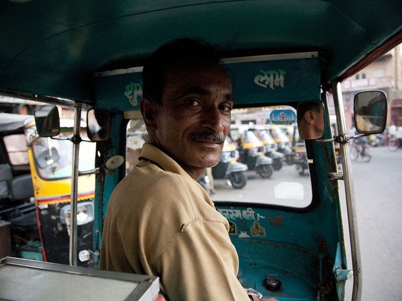 MR. DINESH TIWARI THE BEST AUTO RICKSHAW DRIVER IN ALL OF JAIPUR - GRAHAM GUY BARRATT