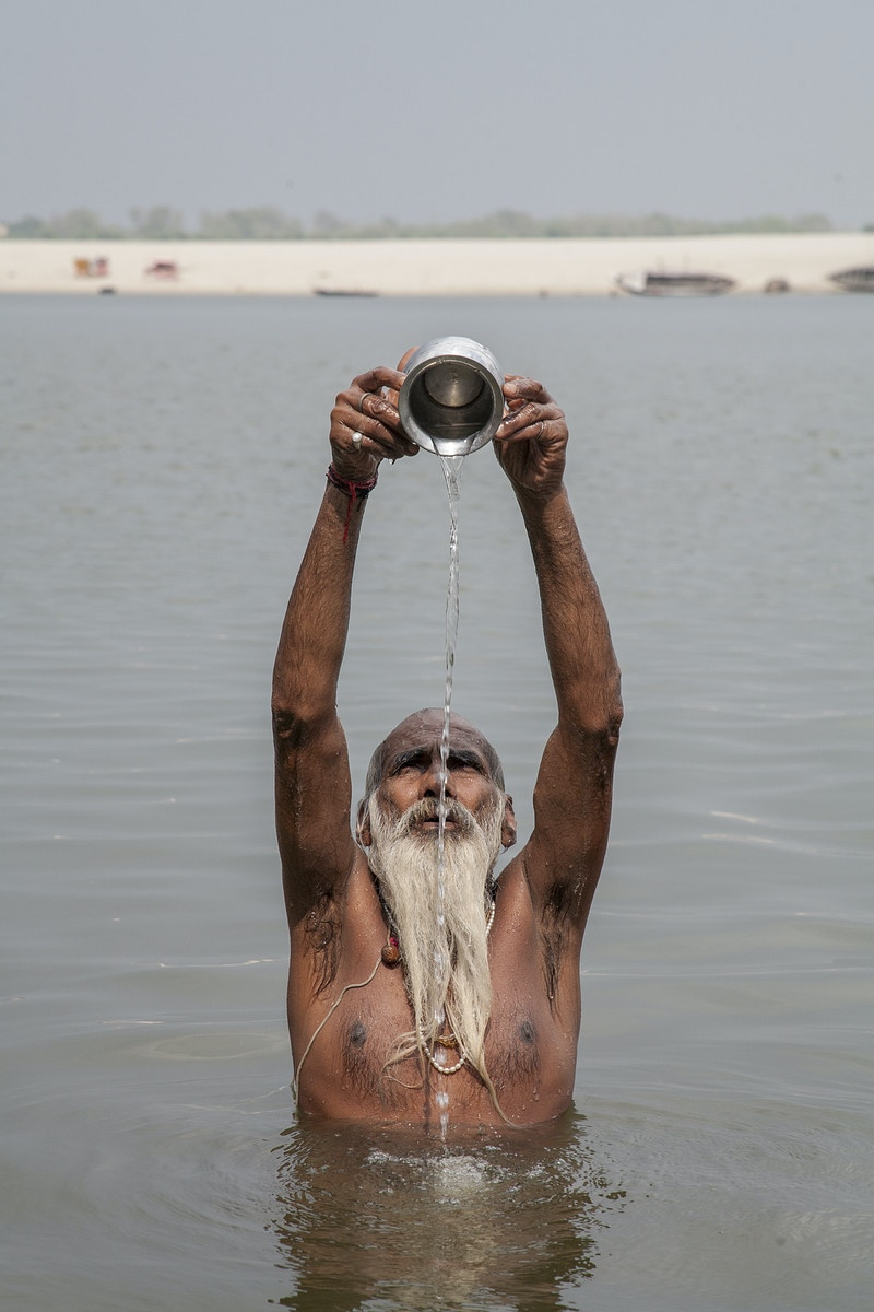 MOTHER GANGES HOLY WATER - GRAHAM GUY BARRATT