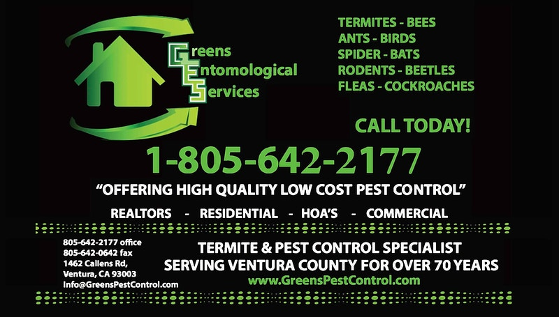 - Green's Entomological Service //