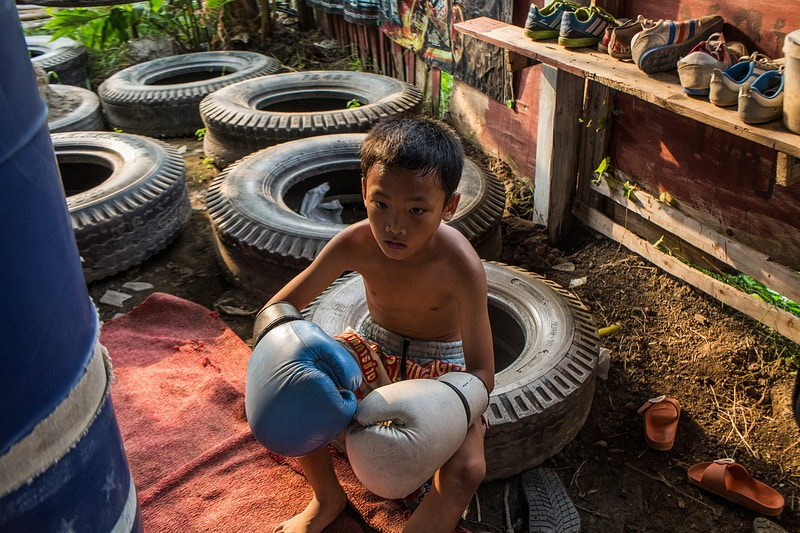Muai Thai Child Warriors - Guillem Sartorio