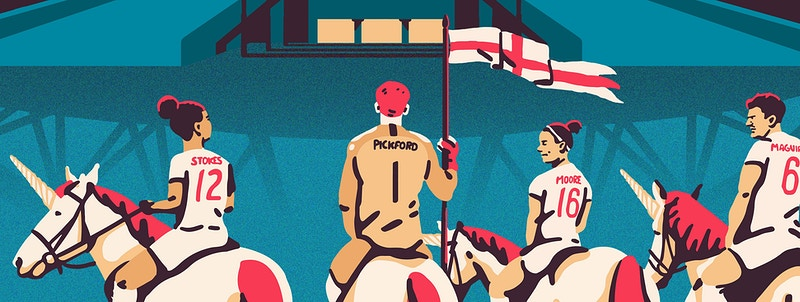 England Football Team - GUNDERSONS™ - Design Studio / Poster Shop