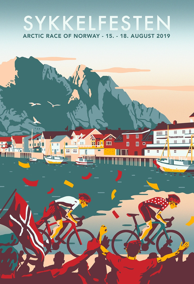 Arctic Race And Arctic Triple - GUNDERSONS™ - Design Studio / Poster Shop