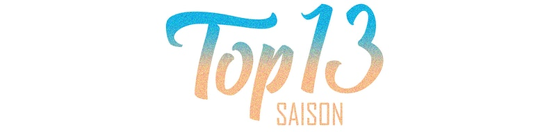 Label Design Top 13 Saison - GUNDERSONS™ - Design Studio / Poster Shop