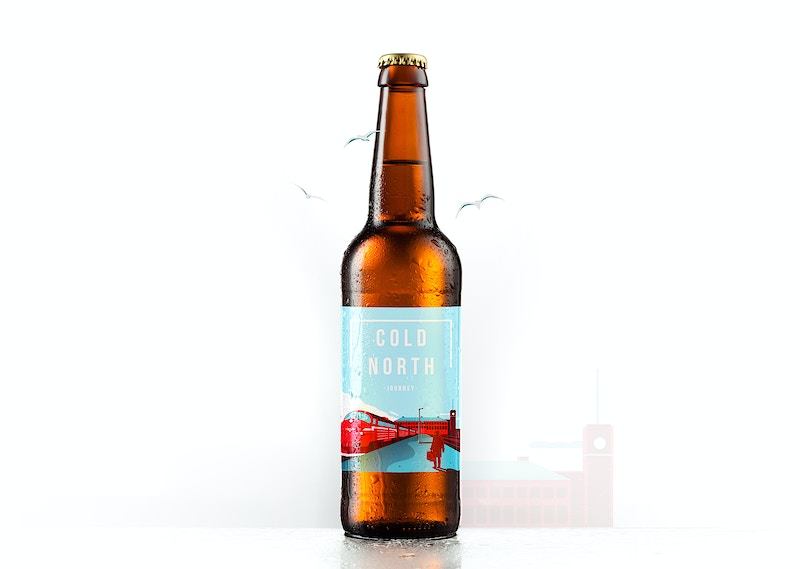 Cold North Label Design - GUNDERSONS™ - Design Studio / Poster Shop
