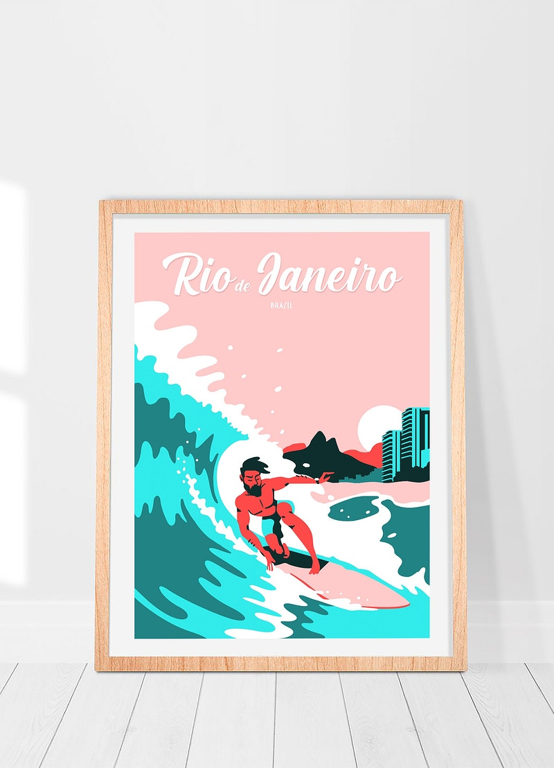 Travel Posters - GUNDERSONS™ - Design Studio / Poster Shop