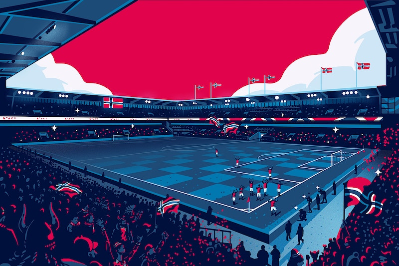 Home Of Football - GUNDERSONS™ - Design Studio / Poster Shop