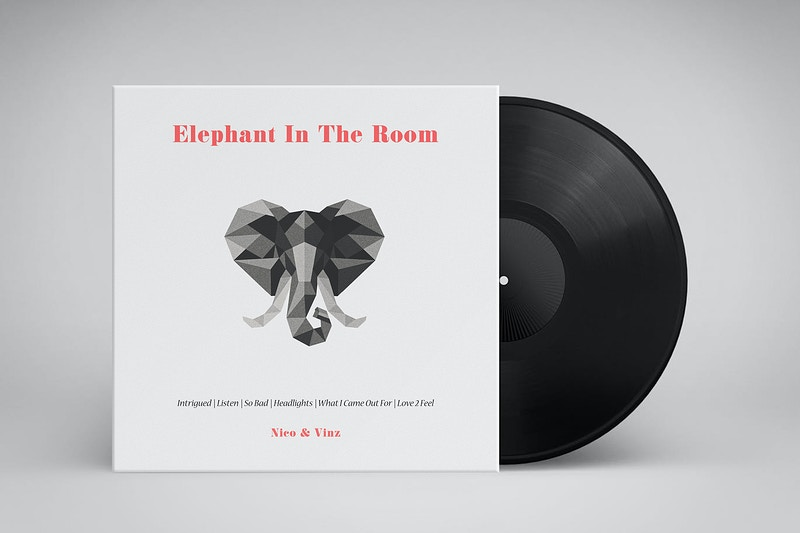 Nico And Vinz Elephant In The Room - GUNDERSONS™ - Design Studio / Poster Shop