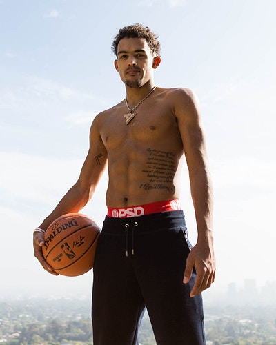 Trae Young X Psd - Hailey Magoon Photography