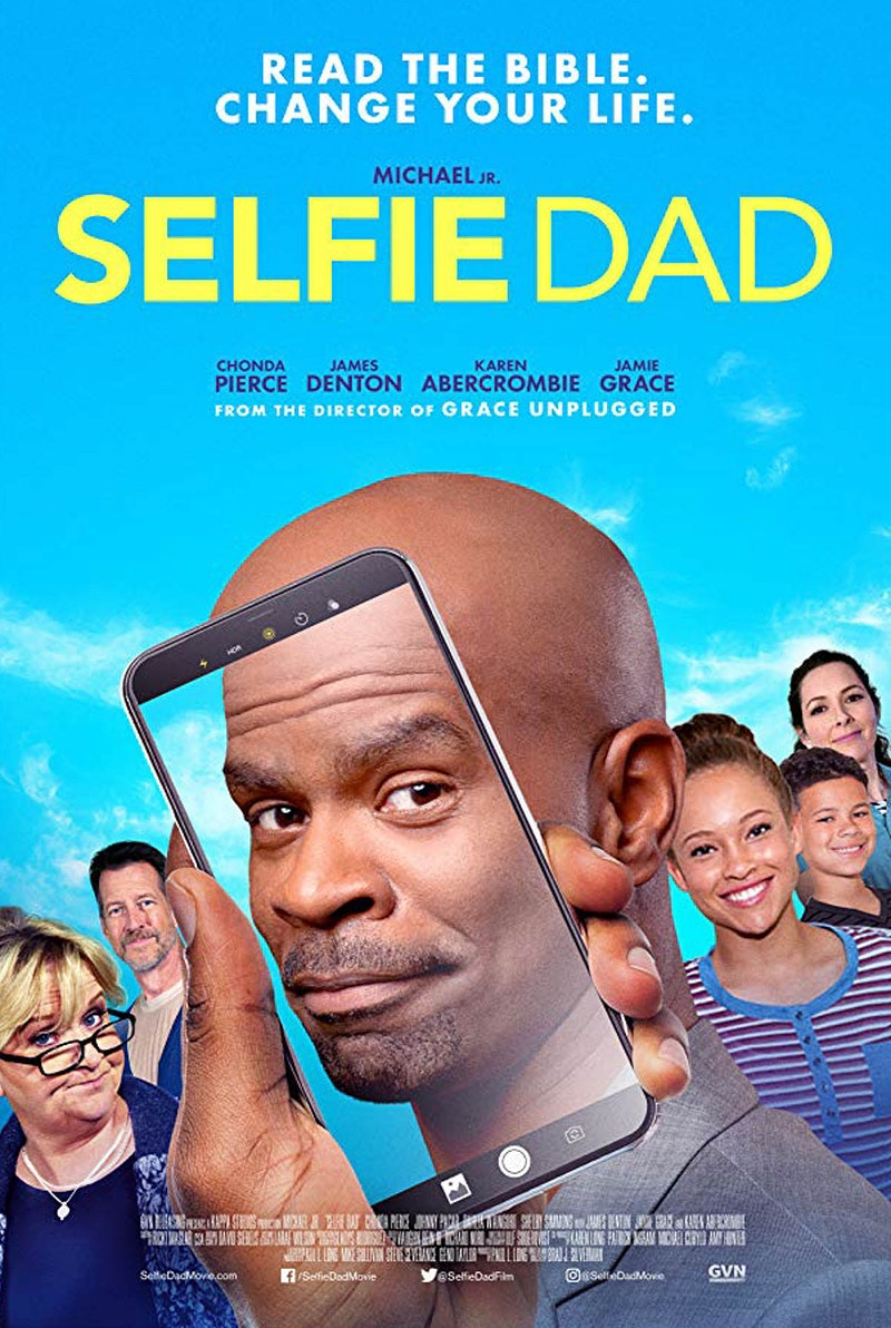 Selfie Dad Movie Poster - Hailey Magoon Photography