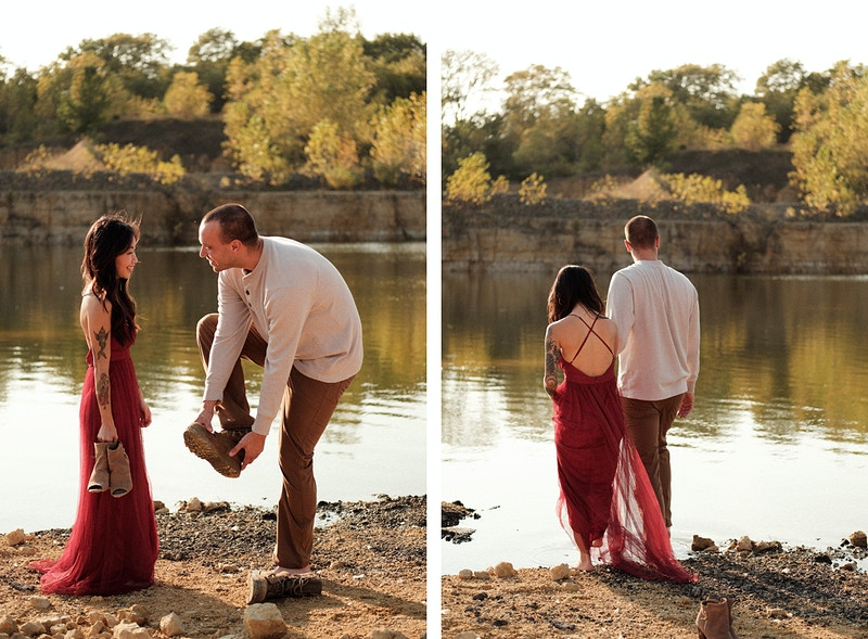 Krista Joel Engagement - Northern Illinois Wedding & Portrait Photography | Luis Hermosillo