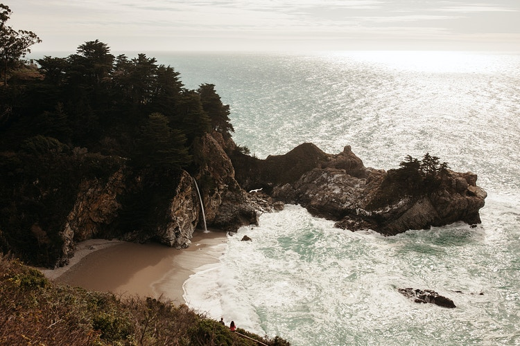 McWay Falls, CA - Northern Illinois Wedding & Portrait Photography | Luis Hermosillo