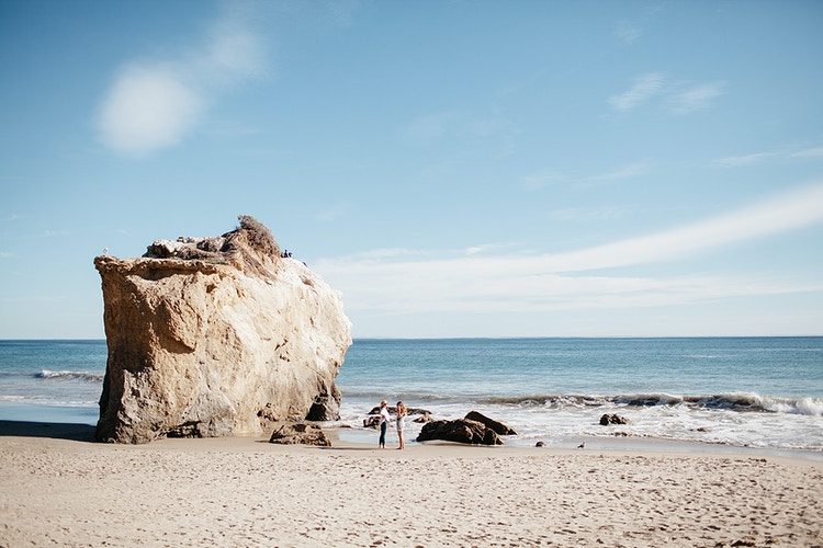 El Matador Beach Malibu,CA - Northern Illinois Wedding & Portrait Photography | Luis Hermosillo