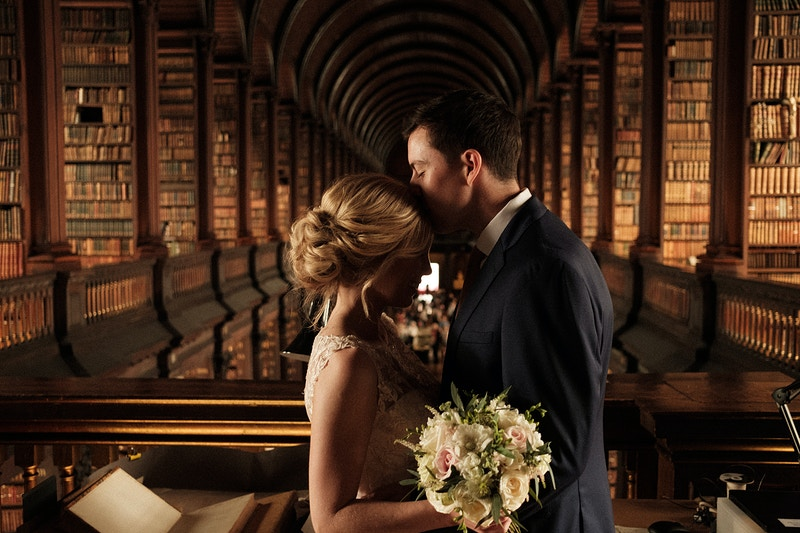 Trinity Library Dublin , Ireland - Northern Illinois Wedding & Portrait Photography | Luis Hermosillo