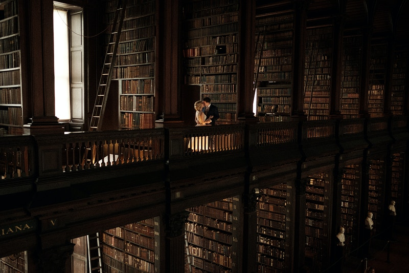 Trinity Library in Dublin, Ireland - Northern Illinois Wedding & Portrait Photography | Luis Hermosillo