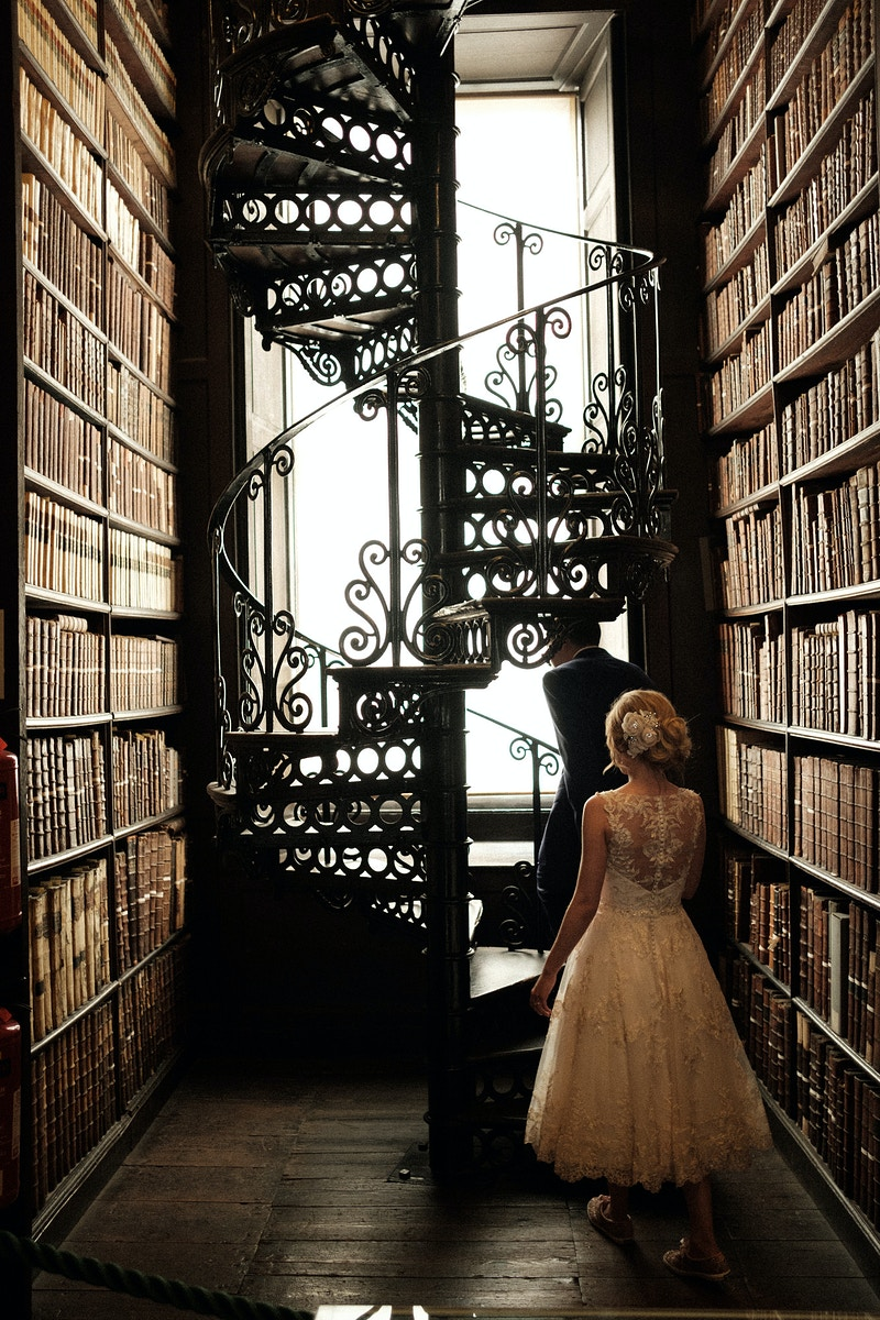 Trinity Library Dublin, Ireland - Northern Illinois Wedding & Portrait Photography | Luis Hermosillo