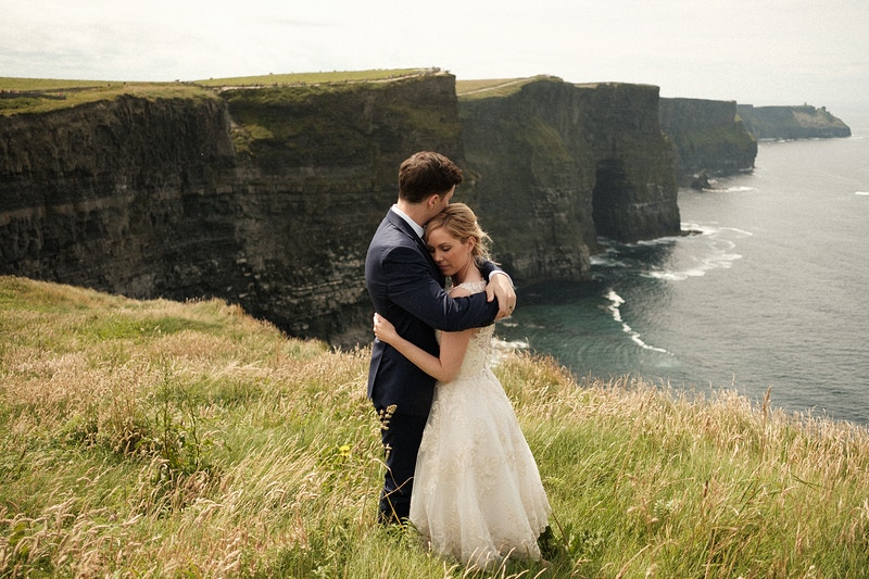 Cliffs Of Moher Elopement - Northern Illinois Wedding & Portrait Photography | Luis Hermosillo