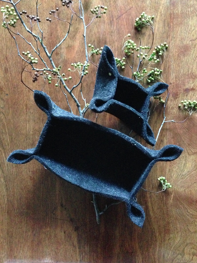 Felt Basket - h-filaments