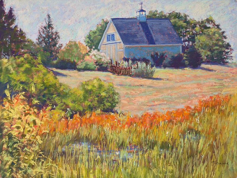 The Colors of Summer               Pastel - Hunter Gallery of Fine Art, Grafton, VT