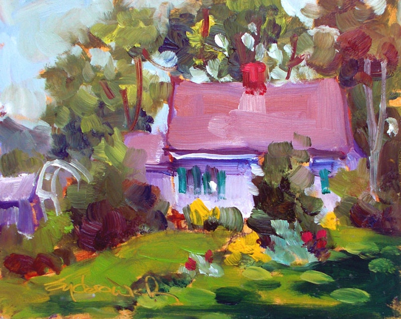 Summer Cottage - Hunter Gallery of Fine Art, Grafton, VT