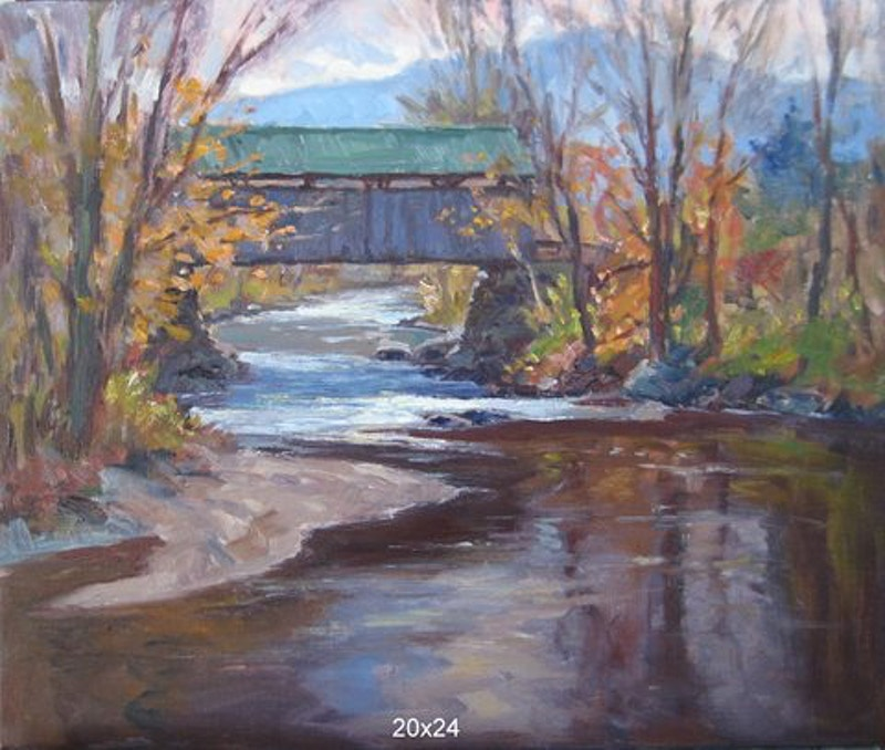 Longely Bridge - Hunter Gallery of Fine Art, Grafton, VT