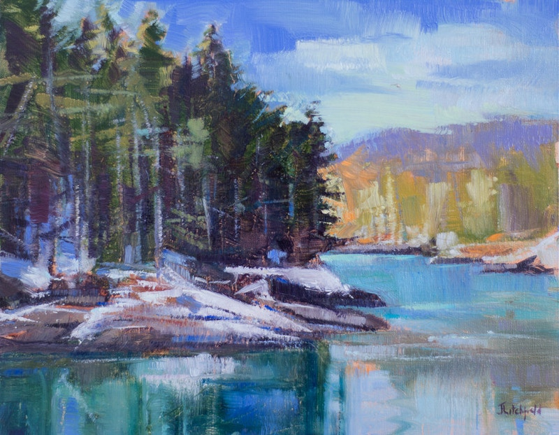 Spring Thaw - Hunter Gallery of Fine Art, Grafton, VT