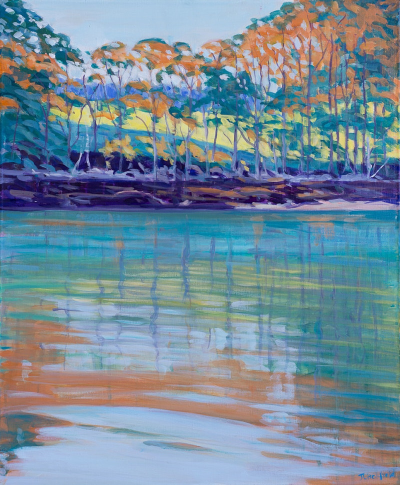 Water's Edge - Hunter Gallery of Fine Art, Grafton, VT