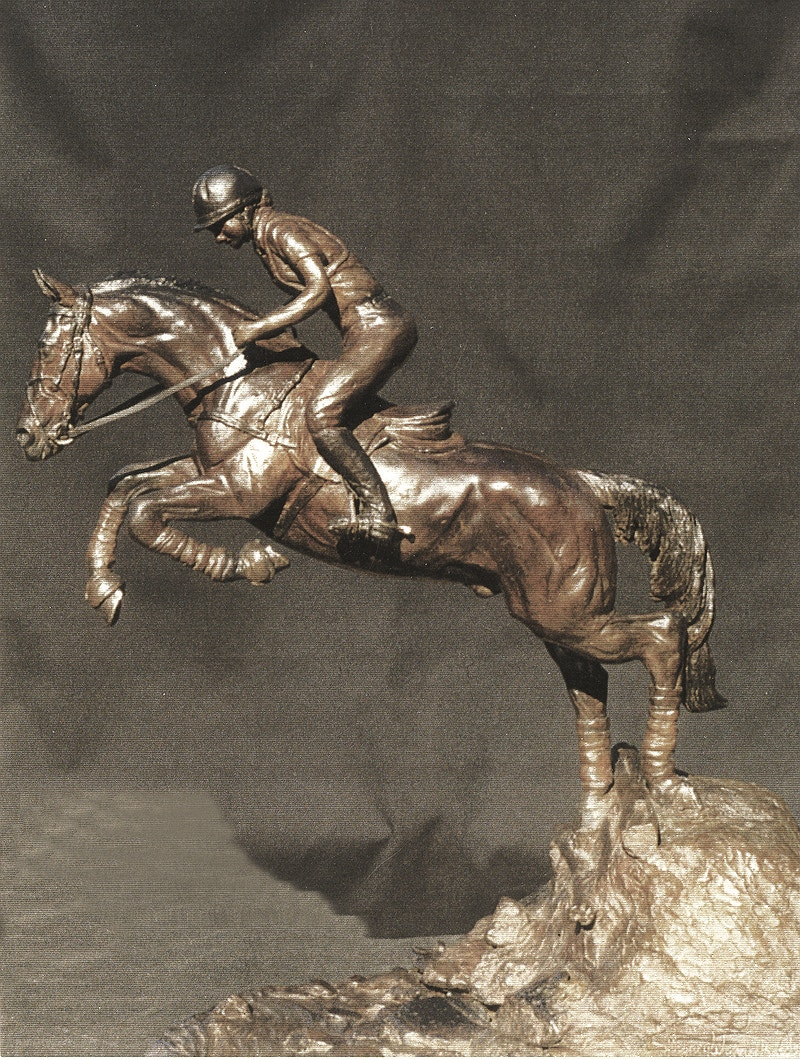 Beale Wright Memorial Trophy - Hunter Gallery of Fine Art, Grafton, VT