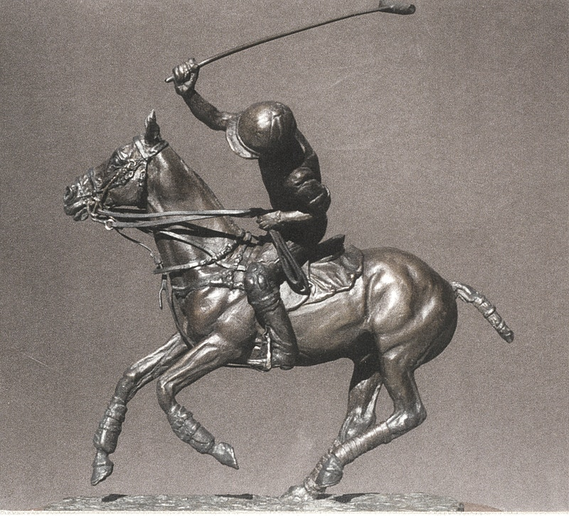 Polo Player #1 - Hunter Gallery of Fine Art, Grafton, VT