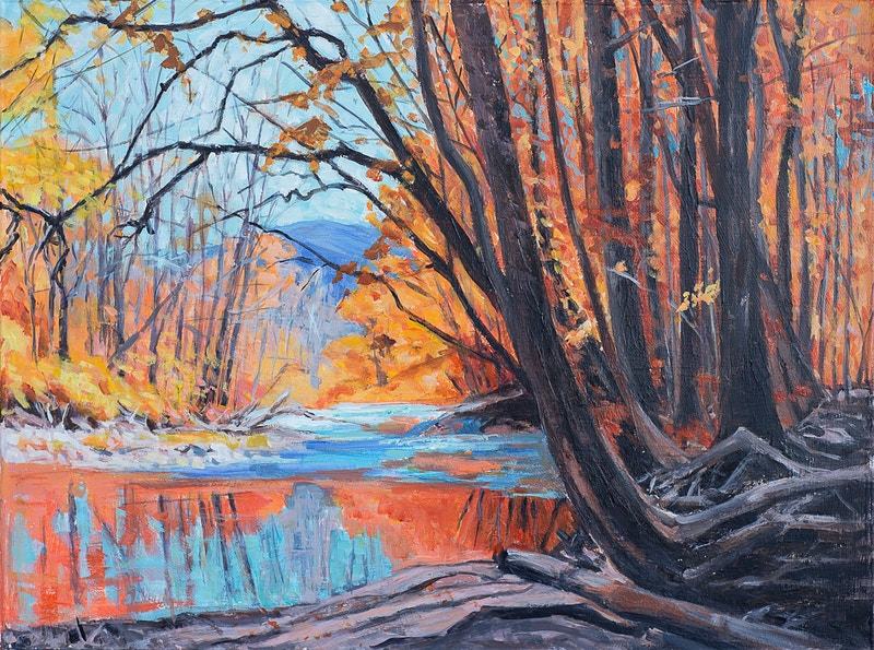 Fall Brilliance - Hunter Gallery of Fine Art, Grafton, VT