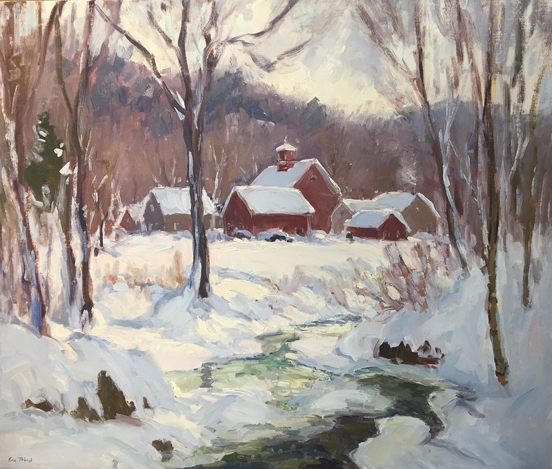 Foot Brook Farm - Hunter Gallery of Fine Art, Grafton, VT