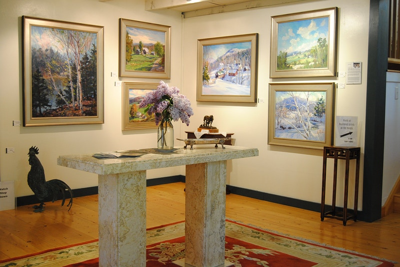 - Hunter Gallery of Fine Art, Grafton, VT