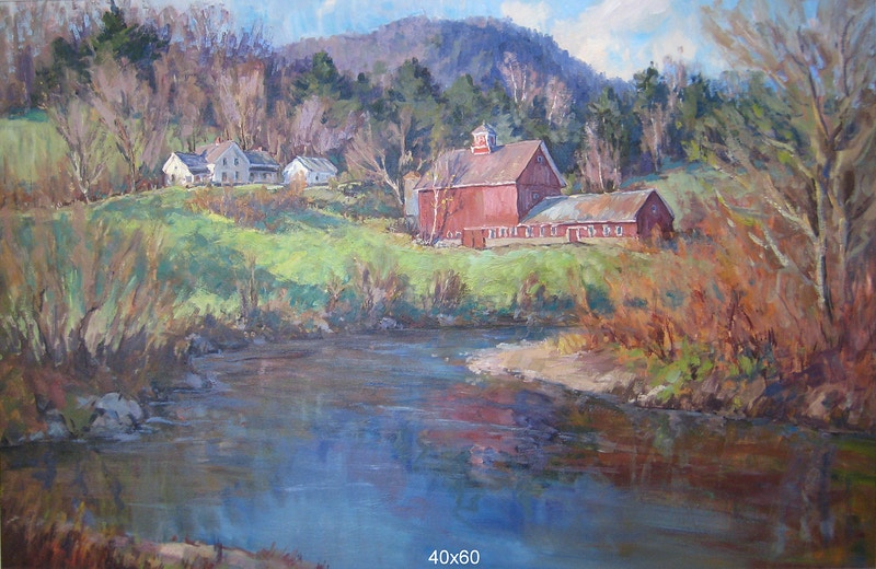 Eric Tobin - Hunter Gallery of Fine Art, Grafton, VT