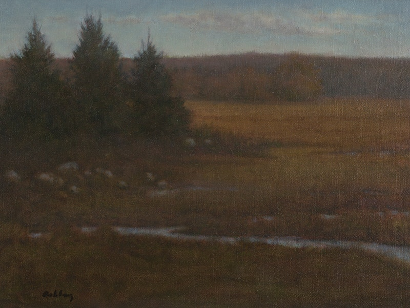 Little River Marsh                                        Oil - Hunter Gallery of Fine Art, Grafton, VT
