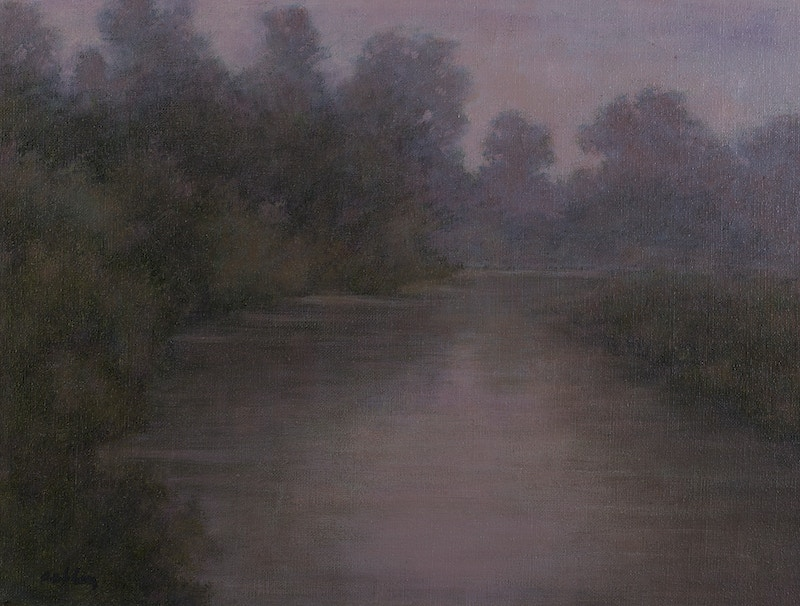 Quiet Creek                                                    Oil - Hunter Gallery of Fine Art, Grafton, VT