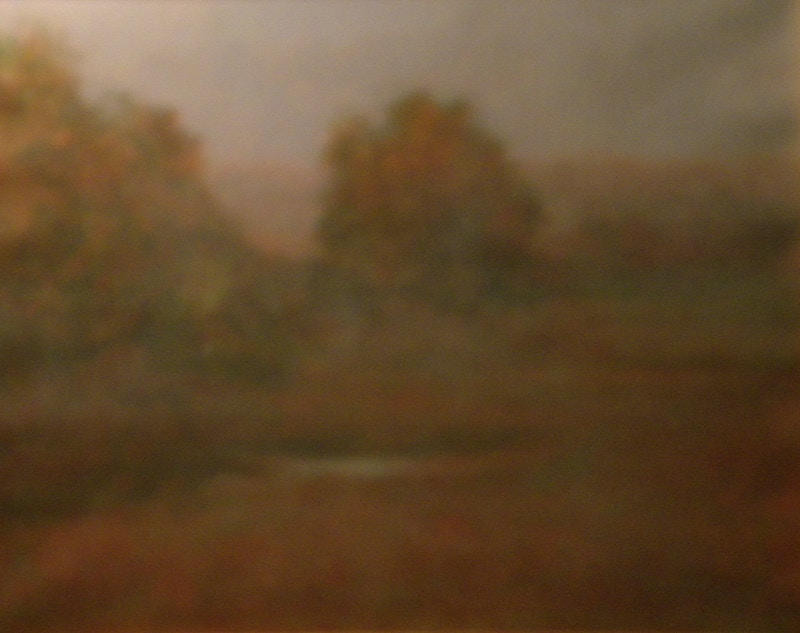 Fog Coming In       Oil - Hunter Gallery of Fine Art, Grafton, VT