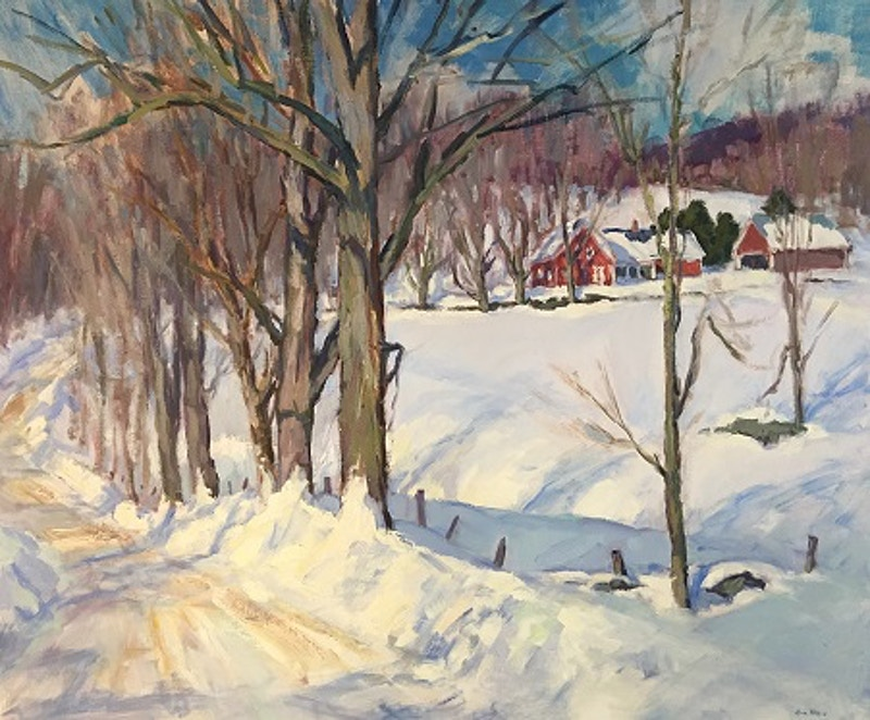 Snow Country - Hunter Gallery of Fine Art, Grafton, VT