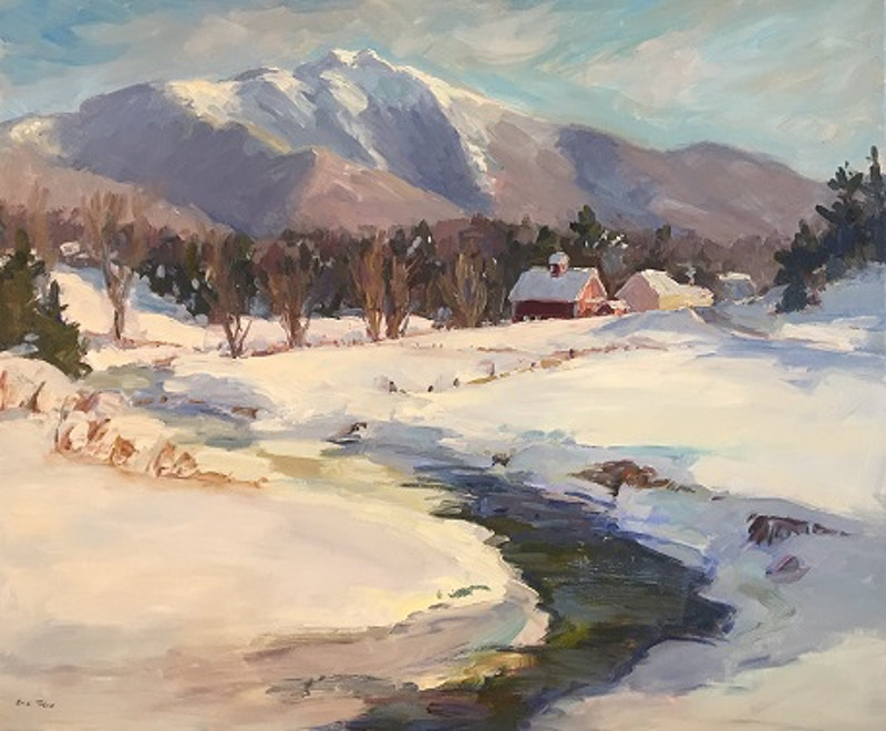 Vermont Winter - Hunter Gallery of Fine Art, Grafton, VT