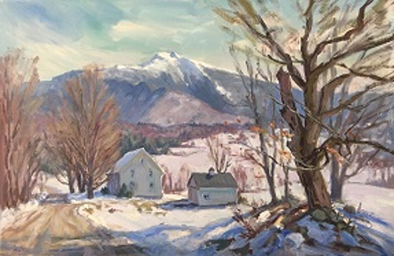 Warm Winter - Hunter Gallery of Fine Art, Grafton, VT