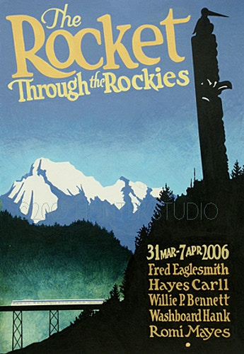 ROCKET THROUGH THE ROCKIES, 2006 - Charlie Hunter