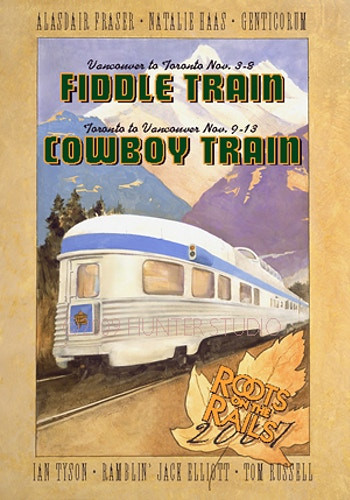 SONGWRITER TRAIN/FIDDLE TRAIN 2007 - Charlie Hunter