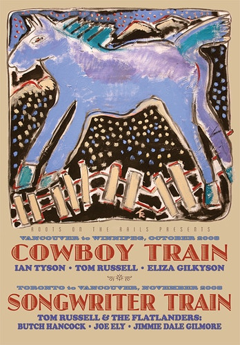 COWBOY TRAIN/SONGWRITER TRAIN, 2008 - Charlie Hunter