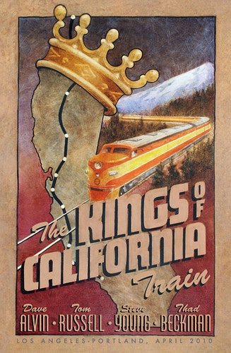KINGS OF CALIFORNIA, 2010 - Charlie Hunter