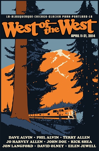 WEST OF THE WEST, 2014 - Charlie Hunter