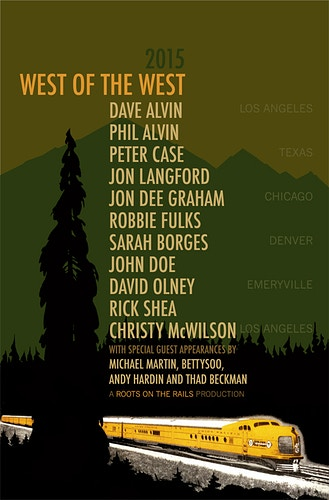 WEST OF THE WEST, 2015 - Charlie Hunter