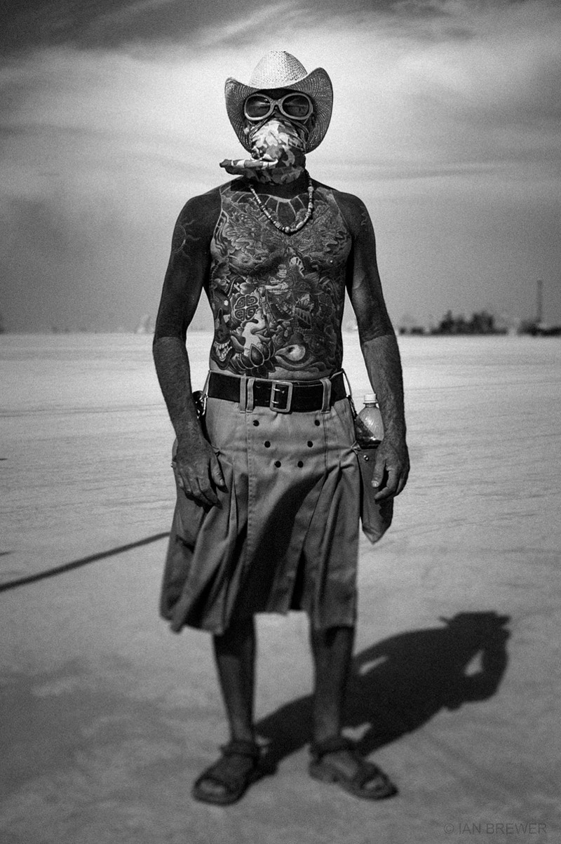 Portraits Burning Man - IAN BREWER