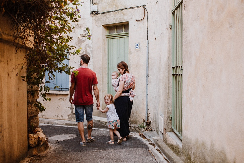 Seance Photo Promenade En Famille A Bages - Ilithyia Photographie