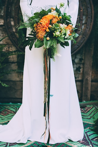 Tropical Wedding Ruffled - Indestructible Factory